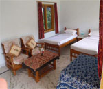 Interior Of Cottage At Ranthambhore Vatika Resort